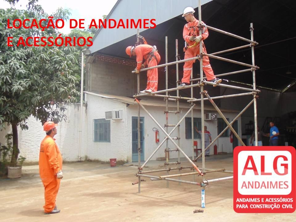 LOCAÇÃO DE ANDAIMES E ACESSORIOS -ALG ANDAIMES